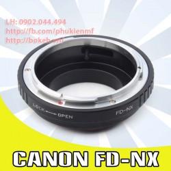 Canon FD/FL - Samsung NX ( FD-NX )