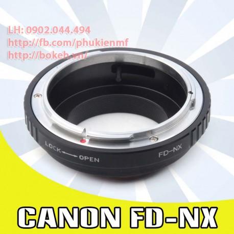 Canon FD/FL - Samsung NX (FD-NX)
