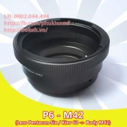 Pentacon Six - M42 (P6-M42)